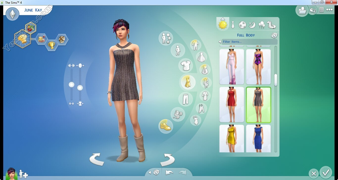 Custom Content Sims 4   leahlillith nevaeh solids at miss