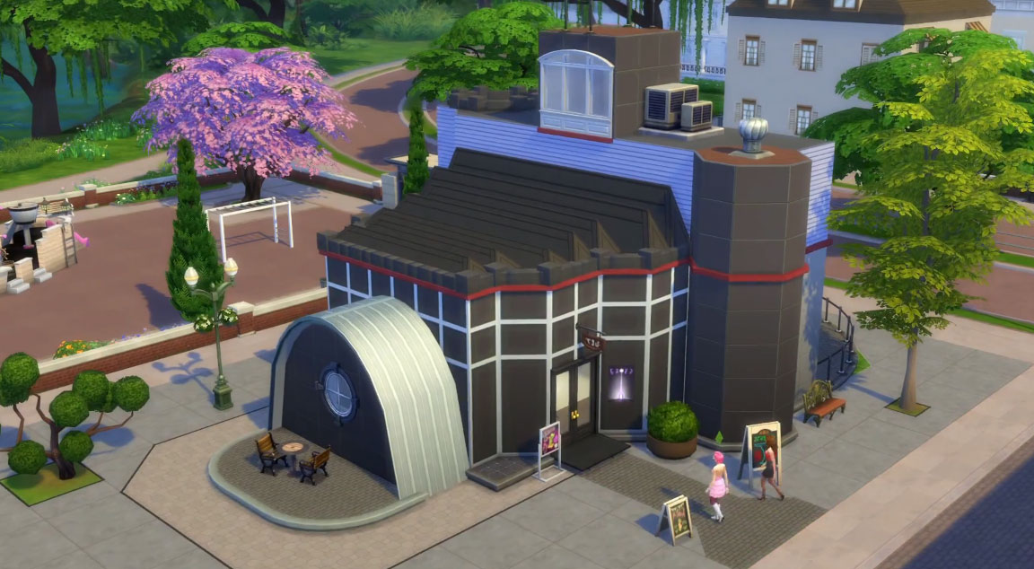 Studio Get to work The Sims 4