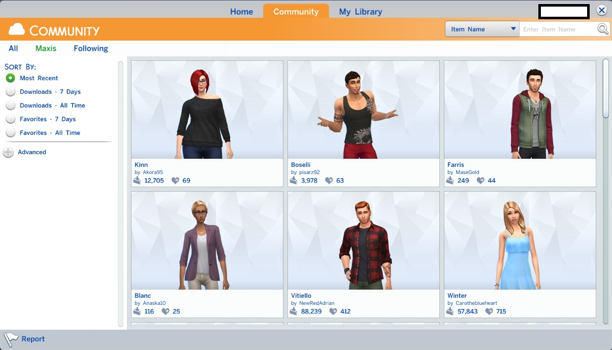 Cách download gallery The Sims 4 reloaded