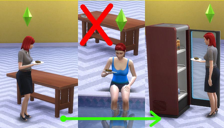 Mod sửa lỗi Put Away The Sims 4