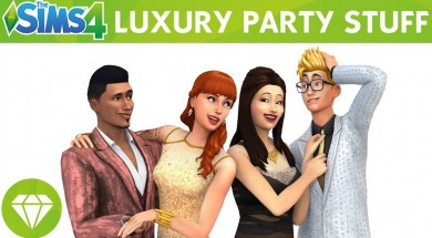 Cách Download bản mở rộng Luxury Party Stuff The Sims 4
